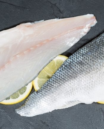 sea bass fillet with skin